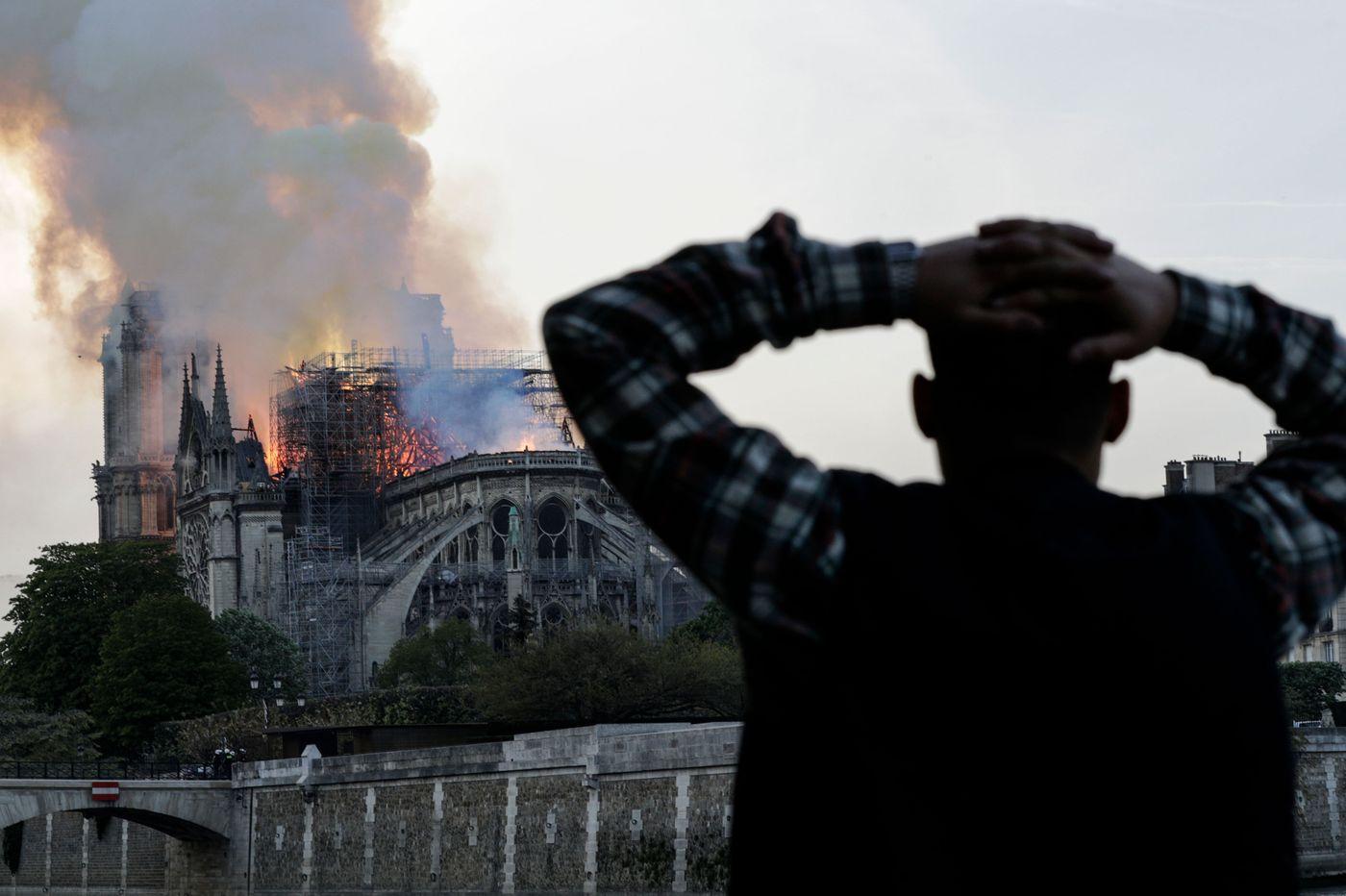 النمسا تأسف لحريق كاتدرائية نوتردام الشهيرة في باريس