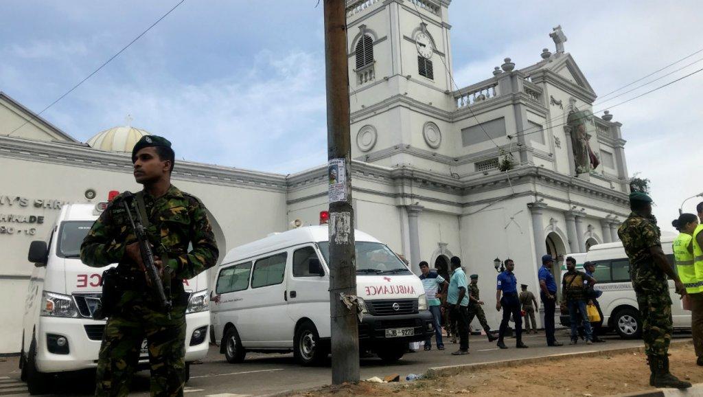 20 قتيلًا على الأقل وأكثر من 160 جريحًا في انفجارات سريلانكا
