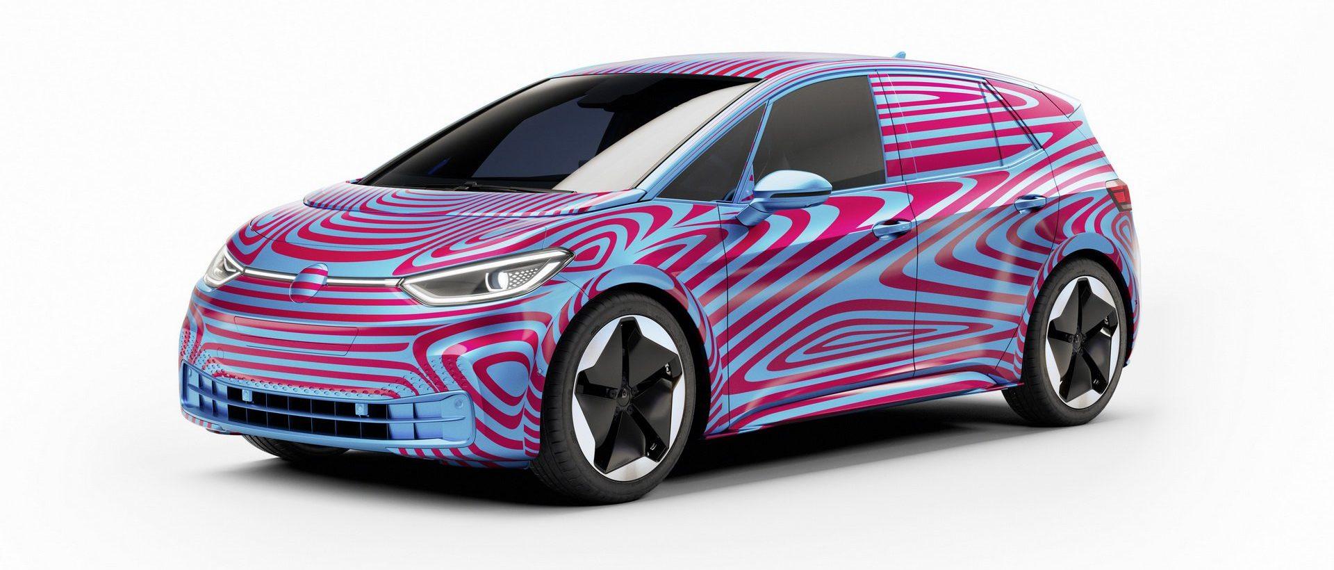 فولكس فاجن تغزو سوق السيارات الكهربائية بـ I.D. 3