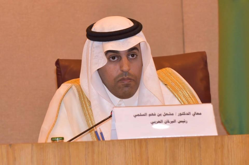البرلمان العربى يناقش تطورات الأوضاع فى المنطقة