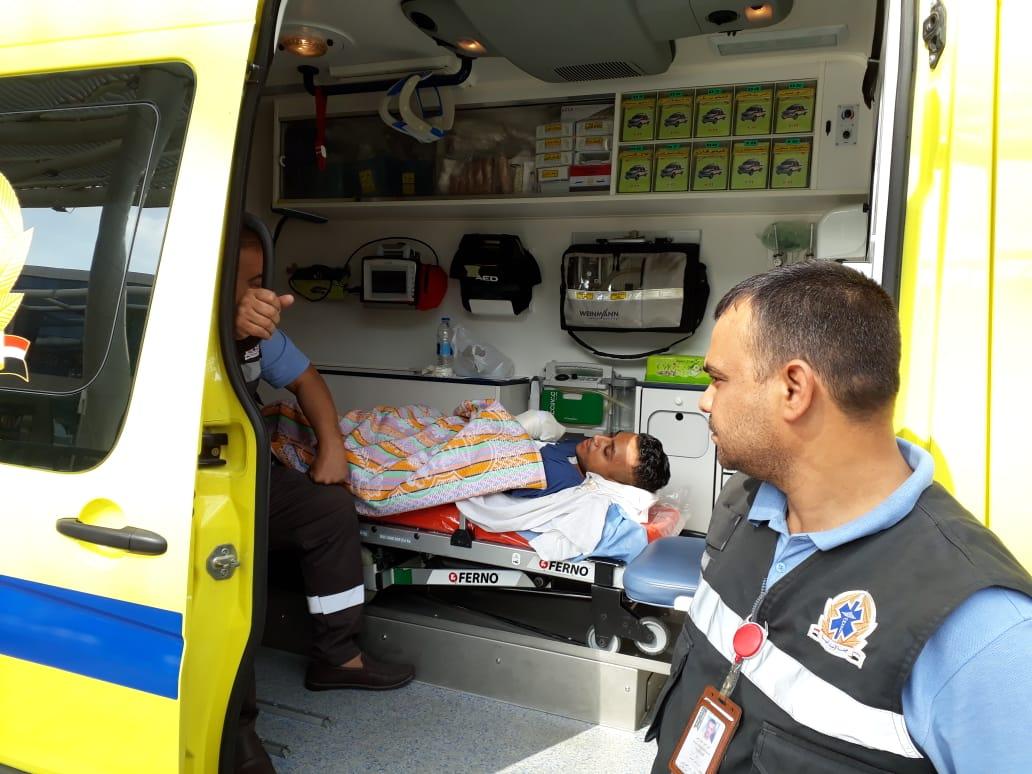 الصحة : الطبيب محمد صلاح غادر إلى ألمانيا لاستكمال رحلة علاجه على نفقة الدولة