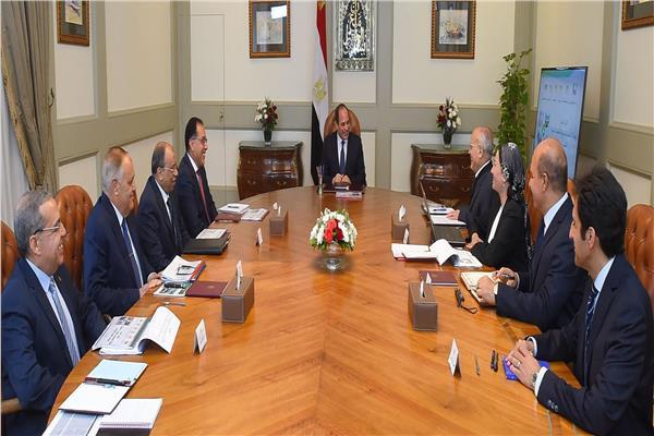 اجتماع الرئيس السيسي مع مدبولي واحتفال الأزهر بذكرى تأسيسه يتصدران عناوين الصحف