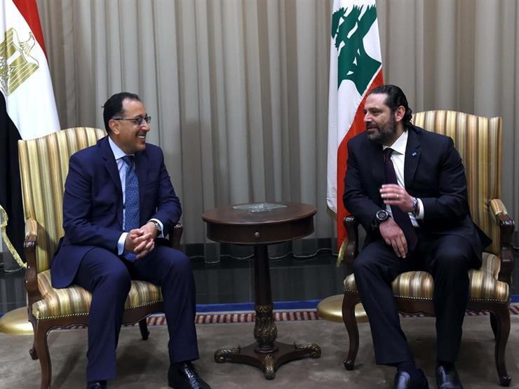 مراسم استقبال رسمية لرئيس الوزراء بالسراي الحكومي في بيروت