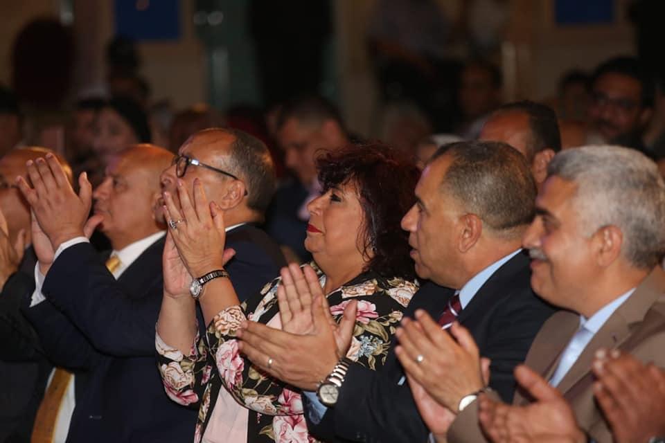وزير الثقافة ورئيس الاوبرا اطلقا فعاليات البرنامج الرمضانى على المسرح المكشوف