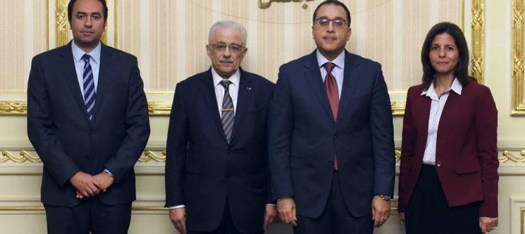 رئيس الوزراء يشهد توقيع اتفاقية تعاون بين  وزارة التعليم ووحدة شهادة النيل