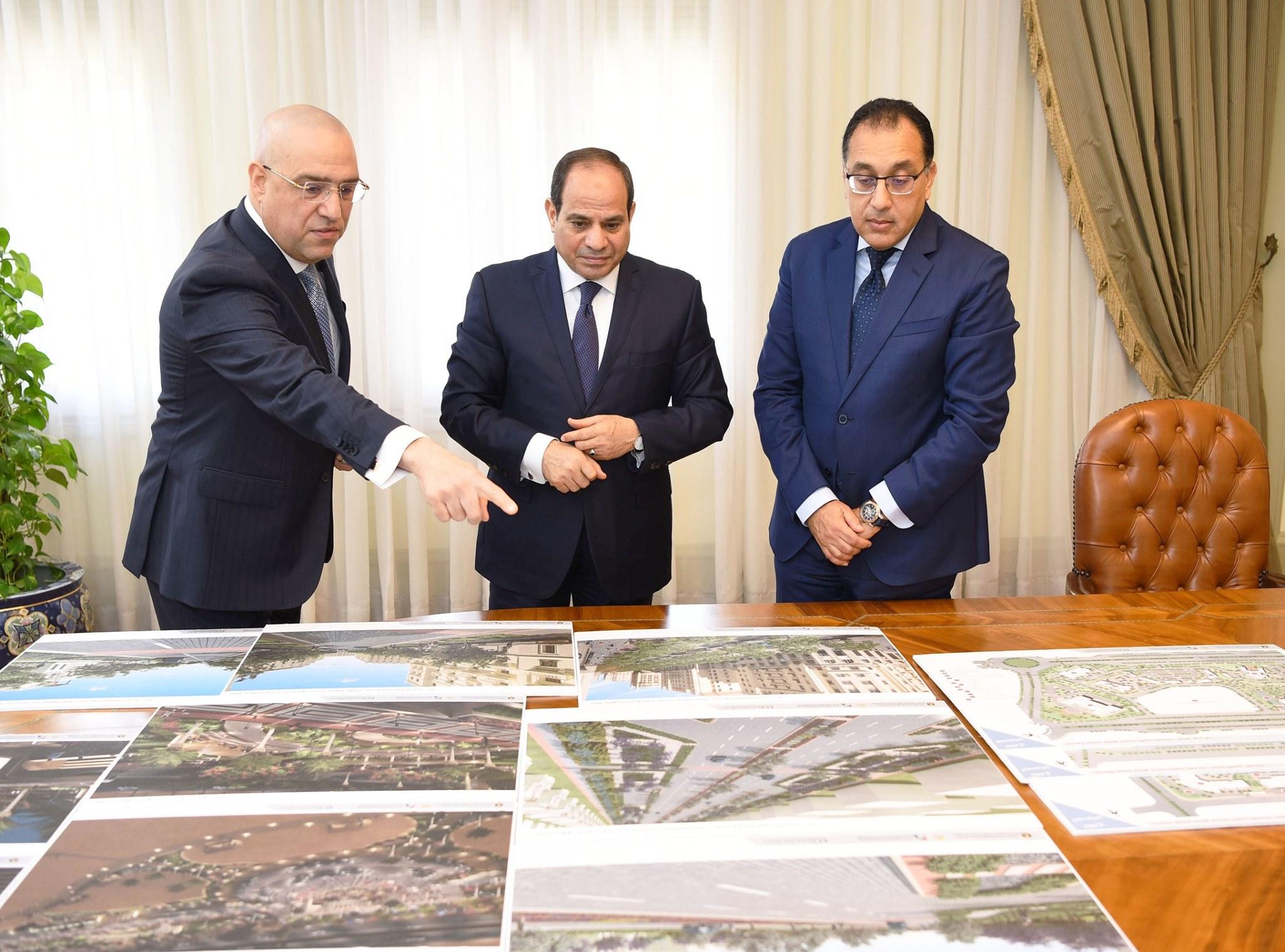 صور | الرئيس السيسي يوجه بالانتهاء من مشروعات الإسكان وفق الجداول الزمنية المقررة
