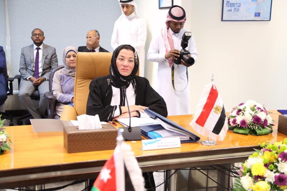 صور | وزيرة البيئة تشارك في اجتماع المجلس الوزاري للهيئة الإقليمية بالسعودية