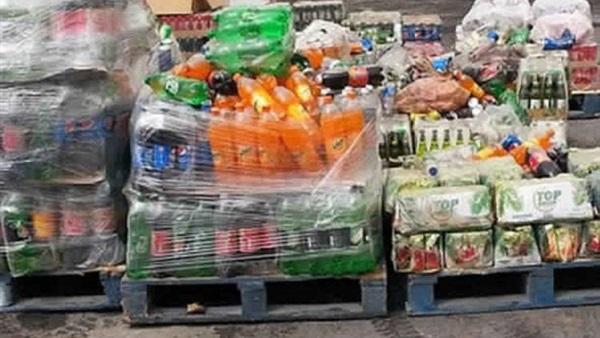 ضبط 7 آلاف عبوة مشروبات غازية منتهية الصلاحية بالإسكندرية