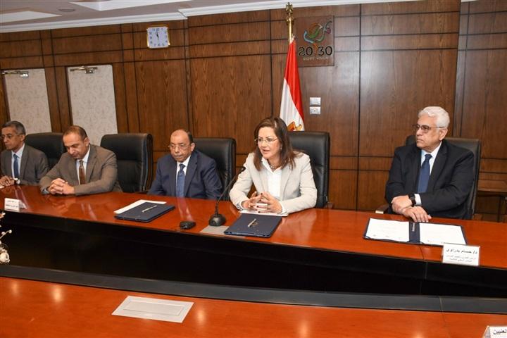التخطيط توقع بروتوكول تعاون مع مركز المعلومات لإطلاق مبادرة قياس تنافسية المحافظات