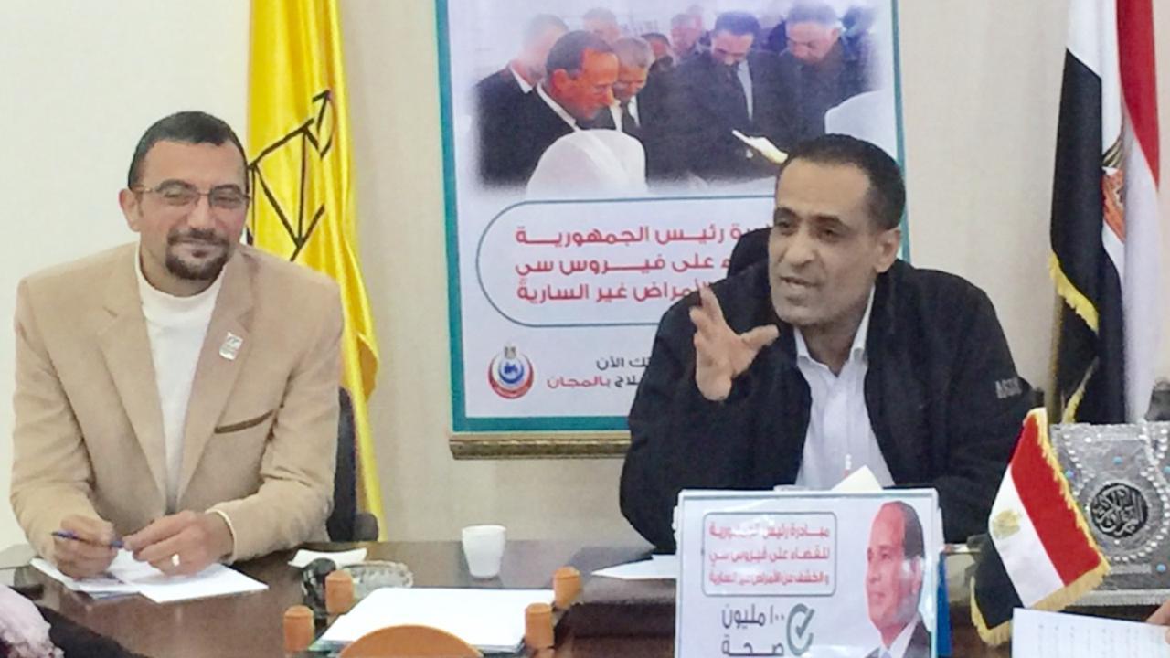 شمال سيناء تستعد لمواجهة موجة الحر والتغيرات المناخية المتوقعة