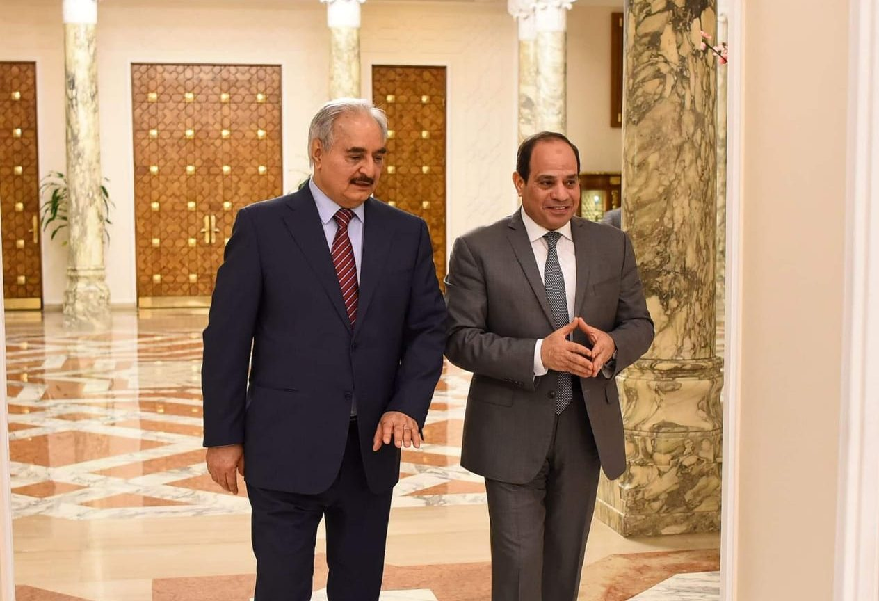 تحويل مصر لممر رقمي عالمي ولقاء الرئيس السيسي وحفتر يتصدران عناوين الصحف