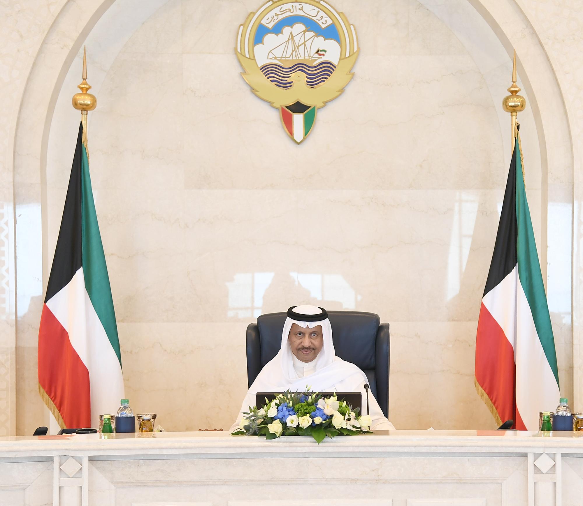 مجلس الوزراء الكويتي يدعو المجتمع الدولي إلى توفير الحماية للشعب الفلسطيني