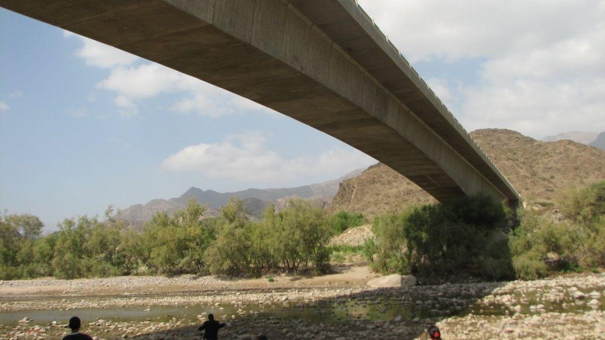 الري : قطع في جسر يربط مجرى لمحطة طلمبات صرف السنانية بدمياط