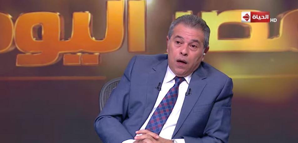 توفيق عكاشة يكشف العديد من الاسرار في برنامج مصر اليوم على قناة الحياة اليوم