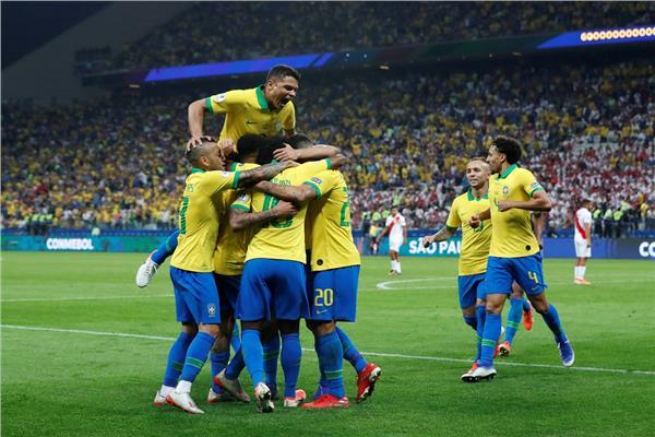البرازيل تفوز على بيرو بخماسية وفنزويلا تتأهل بعد الفوز على بوليفيا في « كوبا أمريكا»
