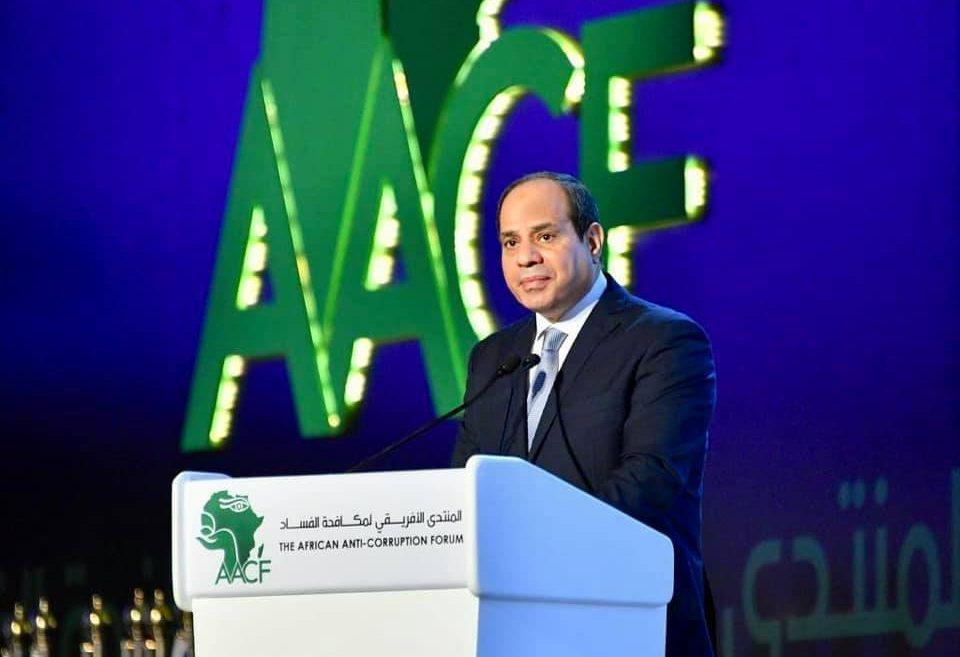 مشاركة السيسي بالمنتدى الأفريقي لمكافحة الفساد تتصدر عناوين الصحف المصرية