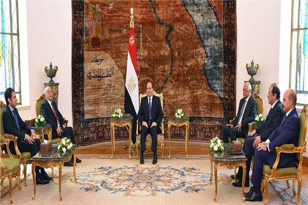 الرئيس السيسي: موقف مصر ثابت لم ولن يتغير تجاه دعم الجيش الوطني الليبي
