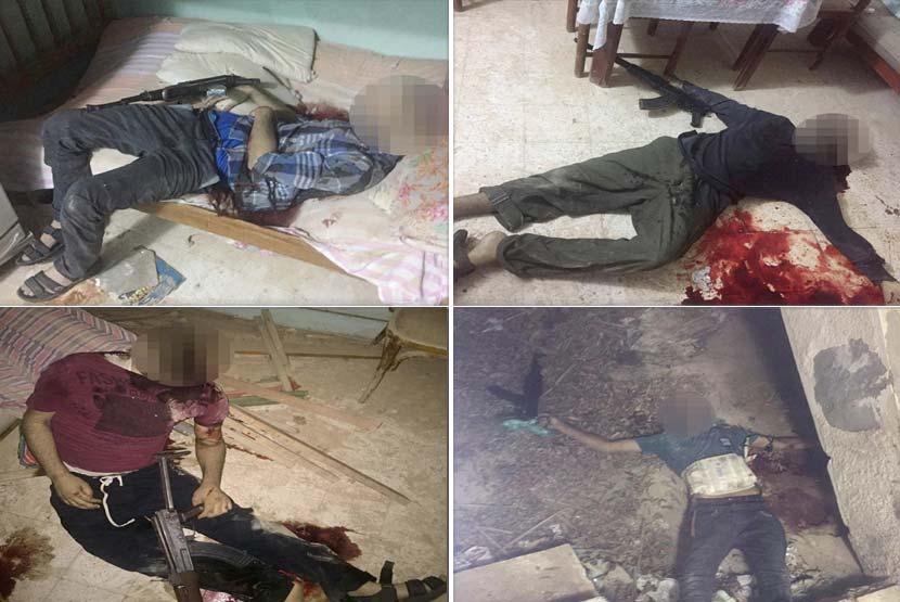 صور| الداخلية تعلن مقتل 14 إرهابيًا هاجموا كمين العريش فجر عيد الفطر