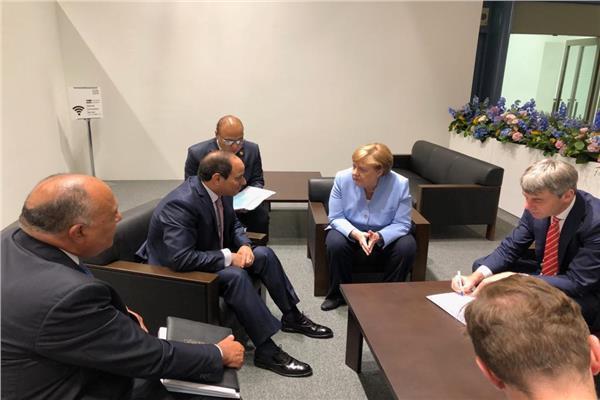 فيدو وصور| لقاءات الرئيس السيسي اليوم في قمة مجموعة الـ 20 باليابان