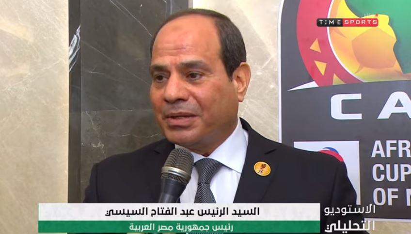 فيديو| الرئيس السيسي: مصر تقدم نفسها أمام أشقائها في إفريقيا وشعبها أيضا