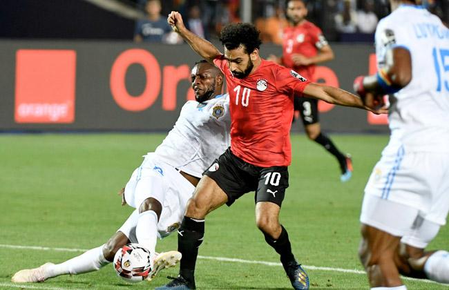 صور| مصر تفوز على الكونغو بثنائية وتتأهل إلى دور الـ16