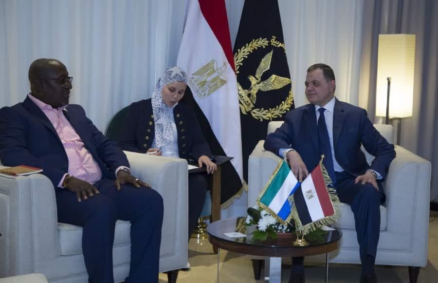 وزير الداخلية يستقبل نظرائه الافارقة4