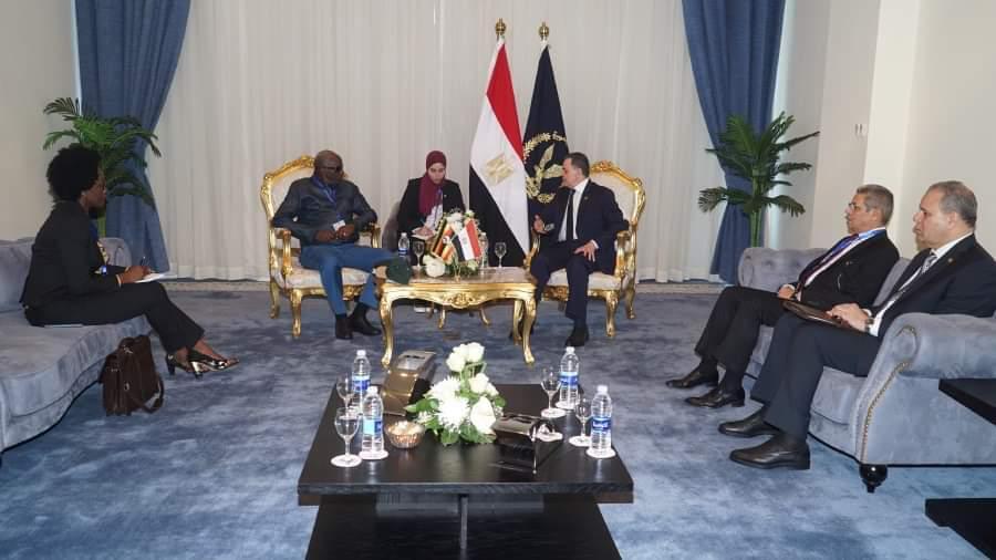 وزير الداخلية يستقبل نظرائه الافارقة7