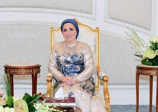 السيدة انتصار السيسي تهنئ الشعب المصري بعيد القيامة المجيد