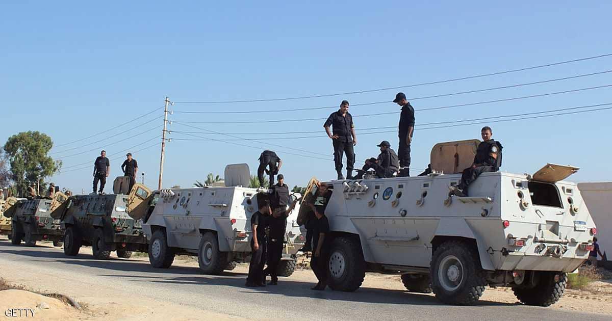 الداخلية: مصرع 3 إرهابيين في تبادل لإطلاق النار مع الأمن بشمال سيناء
