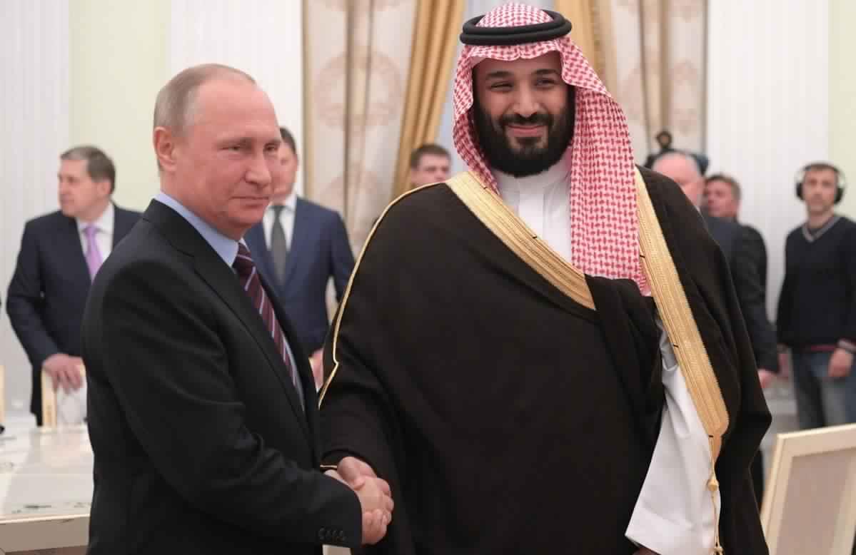 بلومبرج : اتفاق سعودي روسي على تمديد خفض إنتاج النفط لفترة 6 أو 9 أشهر
