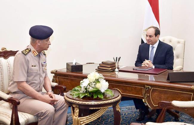 القوات المسلحة تهنئ الرئيس السيسي بمناسبة عيد الأضحى المبارك