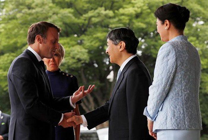 امبراطور اليابان والرئيس الفرنسي يضعان خريطة طريق للتعاون الثنائي