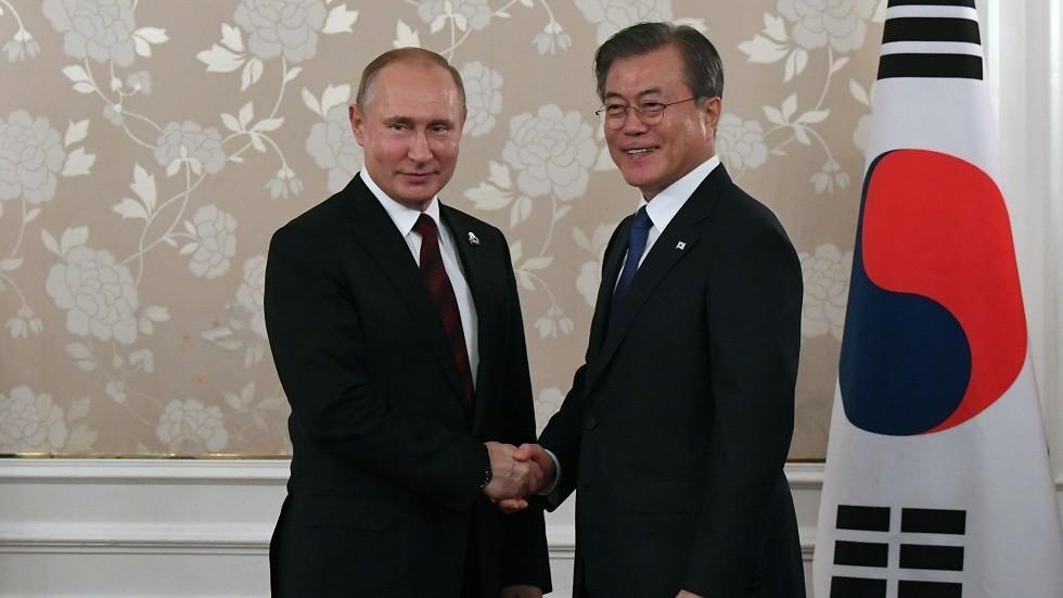 الرئيس الكوري الجنوبي يلتقي نظيره الروسي على هامش قمة العشرين