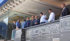 وزيرا التنمية المحلية والرياضة ومحافظ القاهرة يتابعون اللمسات الأخيرة بستاد القاهرة