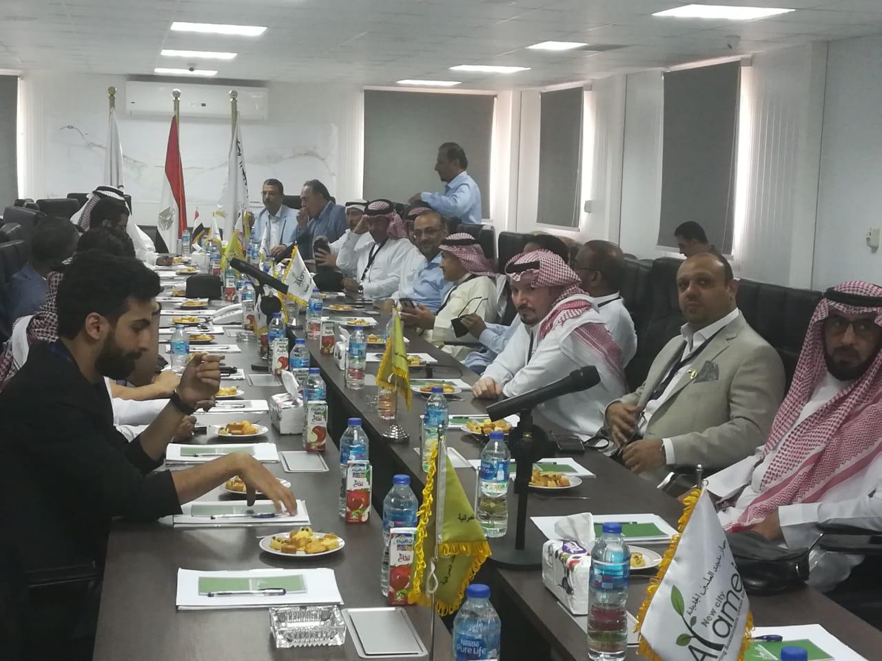 صور| وفد مستثمرين سعودي يزور «العلمين الجديدة» ويشيد بالإنجازات والفرص الاستثمارية