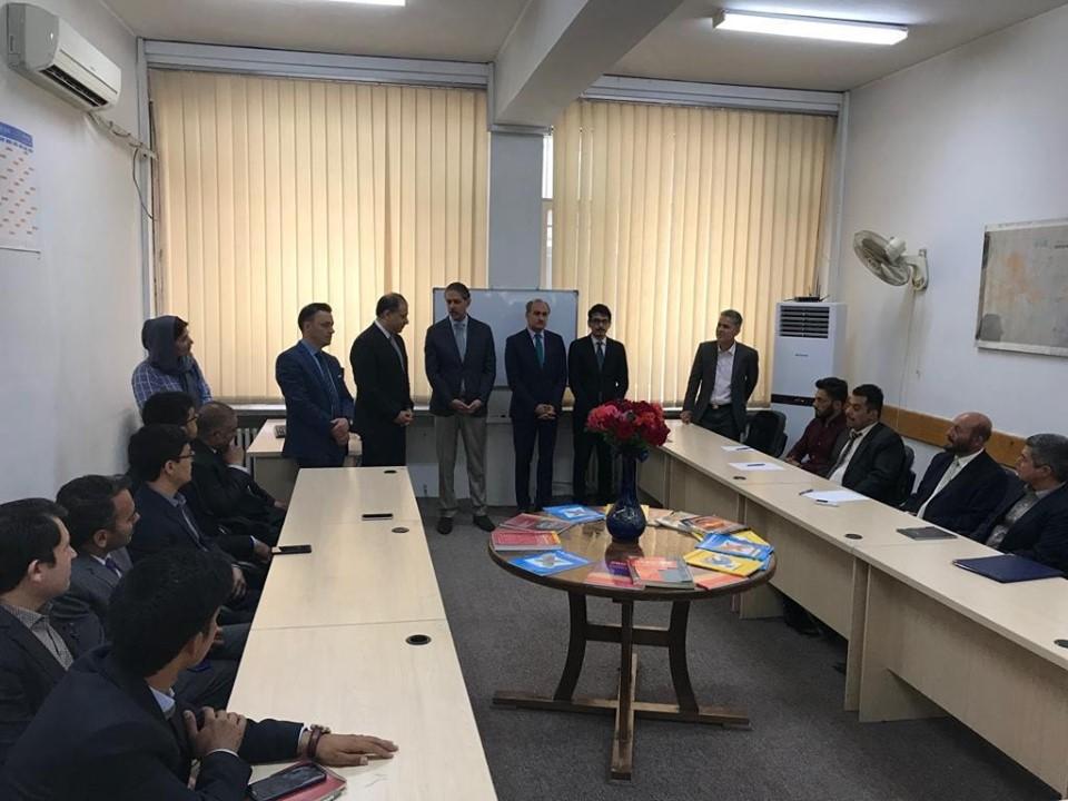 السفير المصري يفتتح دورة تعليم اللغة العربية لأعضاء وزارة الخارجية الأفغانية