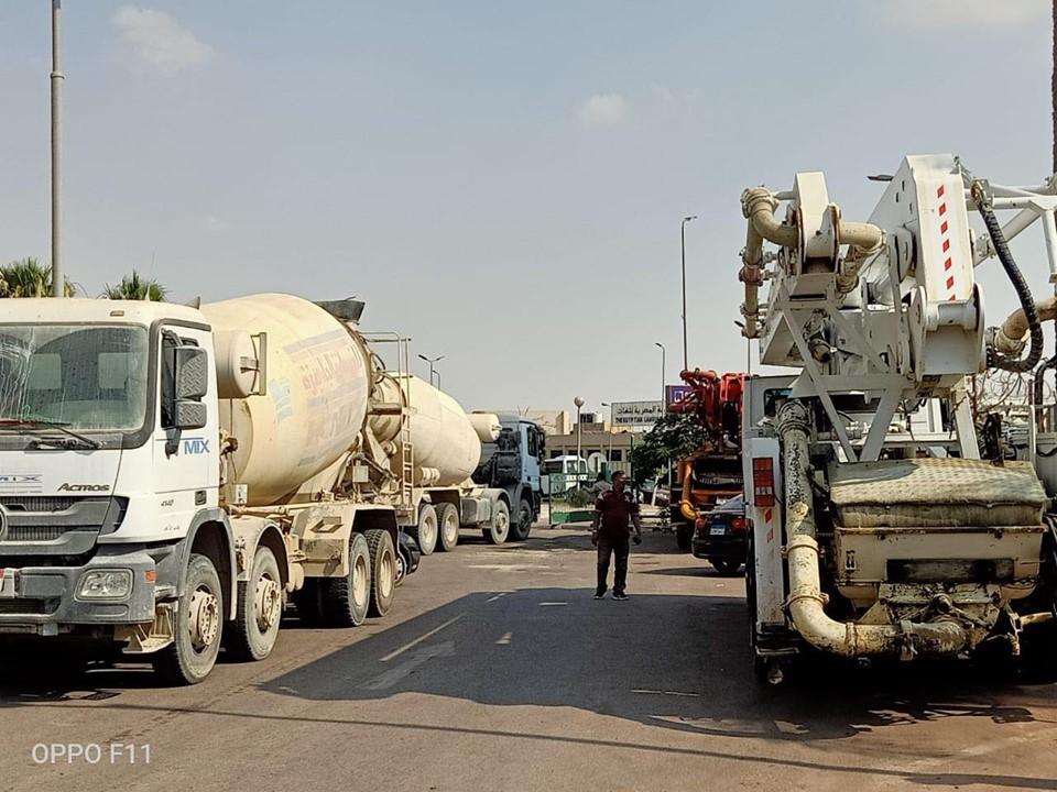 صور | ضبط سيارات النقل المخالفة على الطرق والمحاور الرئيسية بالقاهرة الجديدة