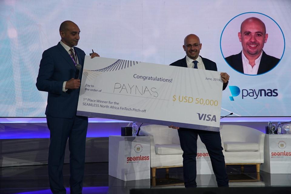 """فوز"""" PayNas """" بالمركز الأول في مسابقة سيمليس شمال أفريقيا 2019"""