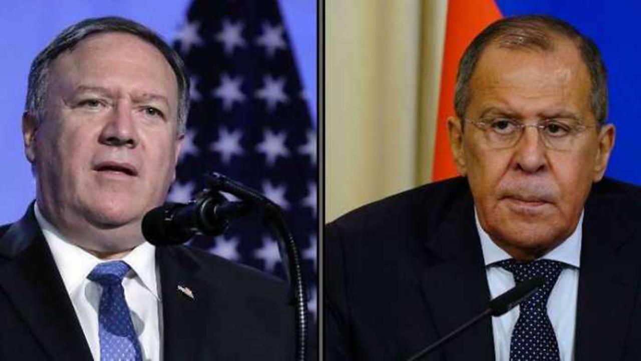 لافروف وبومبيو يبحثان تسوية النزاعات في ليبيا وسوريا وأفغانستان