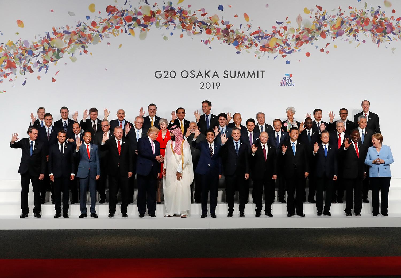 قادة مجموعة العشرين باستثناء أمريكا يؤكدون الالتزام باتفاق باريس للمناخ