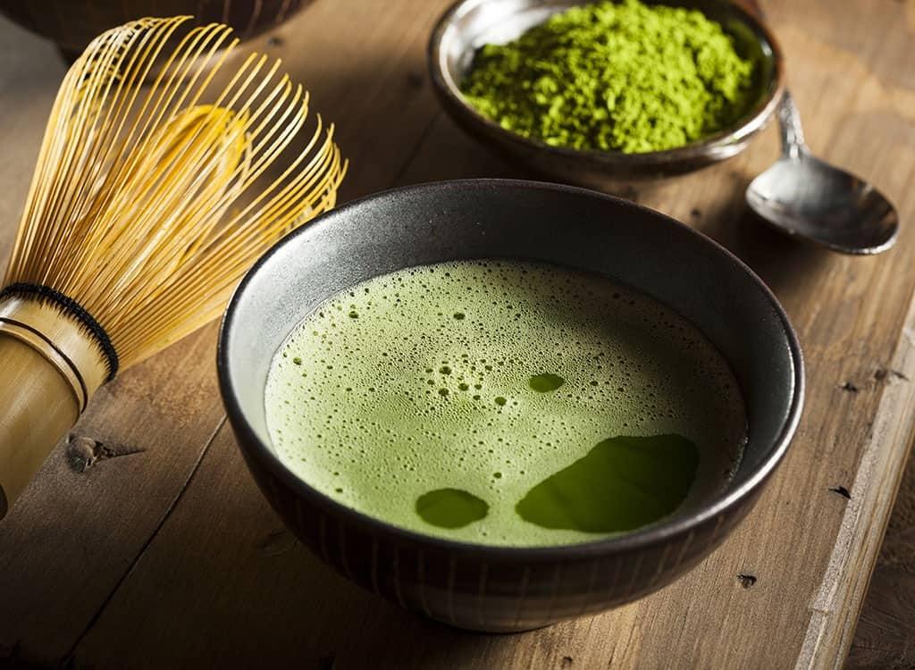 دراسة : تناول شاي ماتشا الياباني يقلل القلق