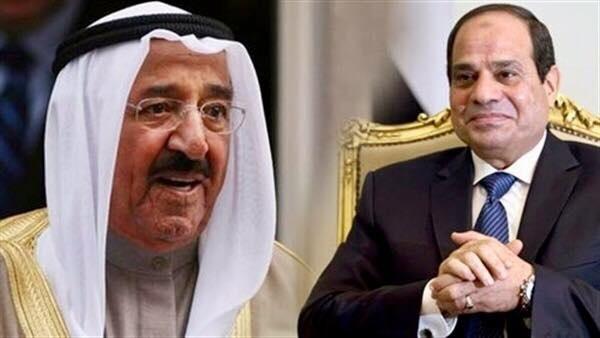 أمير دولة الكويت يهنئ الرئيس السيسي بنجاح تنظيم بطولة كأس الأمم الأفريقية