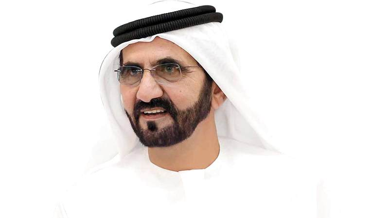 محمد بن راشد .. فارس الصحراء