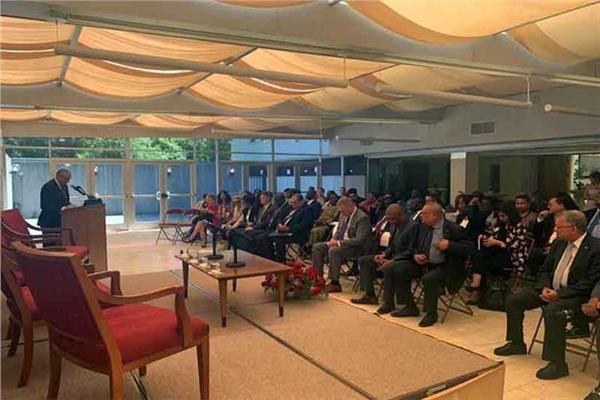 سفير مصر بواشنطن: توفير التمويل للبنية الأساسية بأفريقيا يحظى بأولوية الرئيس السيسي