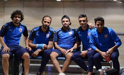 بعثة نادي الزمالك تعود إلى القاهرة بعد خوض معسكر إعداد في قبرص