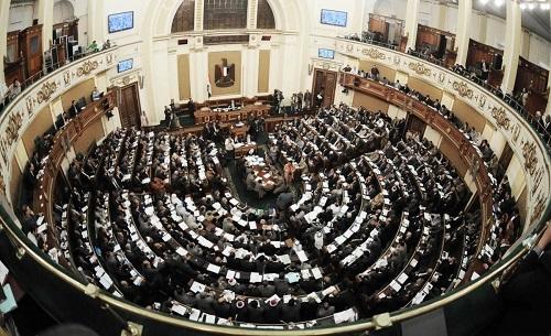 """أعضاء """"النواب"""" يوجهون التحية وقوفًا للرئيس السيسي في اختتام دور الانعقاد الرابع"""