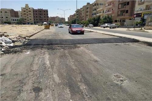 البدء في تنفيذ أعمال تطوير بمنطقة الحصري بمدينة 6 أكتوبر