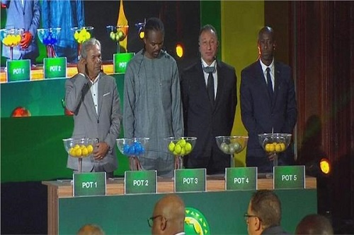 تعرف على نتائج قرعة تصفيات أمم إفريقيا 2021