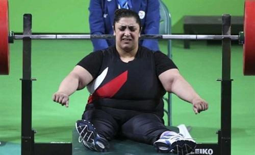 المصرية راندا محمود تفوز بالميدالية البرونزية في بطولة العالم لرفع الأثقال الباراليمبية