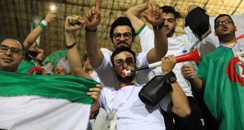 بدء توافد الجماهير الجزائرية على استاد القاهرة لحضور نهائي كأس الأمم الأفريقية